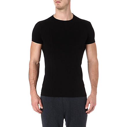 D SQUARED Pack of two stretch-cotton t-shirts (Black