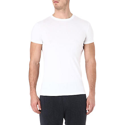 D SQUARED Pack of two stretch-cotton t-shirts (White