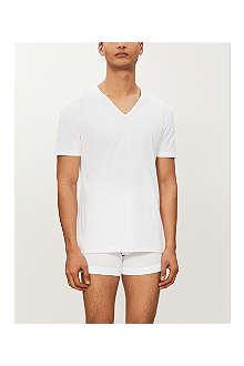 ZIMMERLI Pure comfort v–neck t–shirt