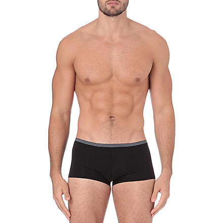 ZIMMERLI Pure comfort trunks (Black