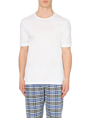 ZIMMERLI Crew neck cotton t-shirt