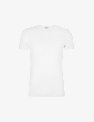 ZIMMERLI Crew-neck cotton t-shirt