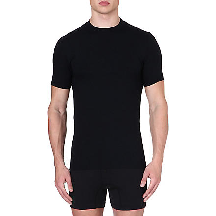 ZIMMERLI Stretch-cotton t-shirt (Black