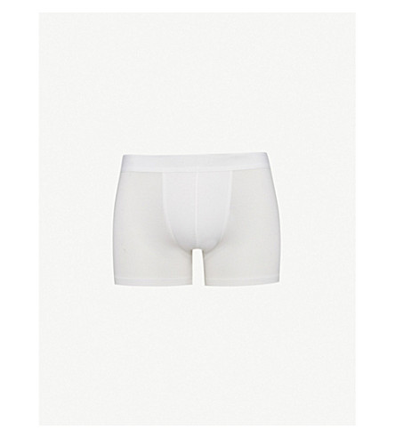 ZIMMERLI Slim-fit micromodal briefs (White+01