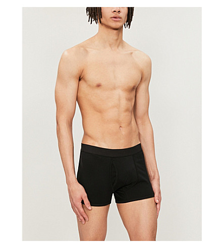 SUNSPEL Low waist trunks (Black