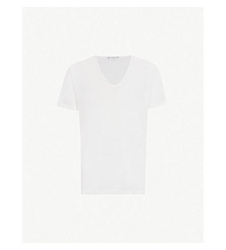SUNSPEL Cellular cotton T-shirt (White