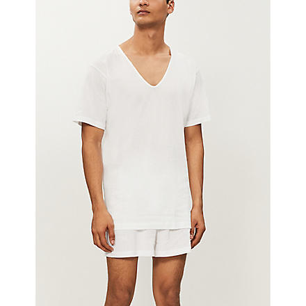 SUNSPEL V-neck t-shirt (White