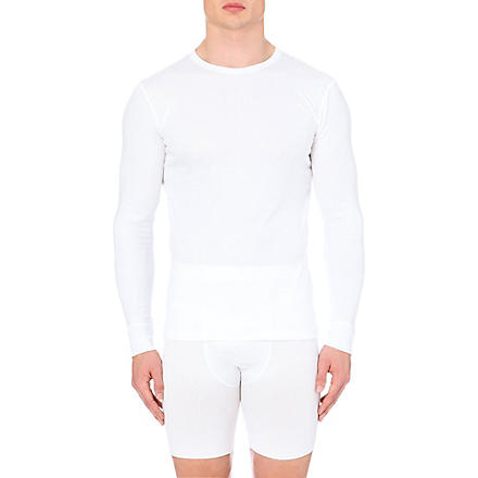 SUNSPEL Thermal long–sleeved top (White