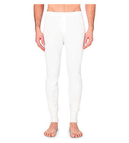 SUNSPEL Q04 knitted long johns (White