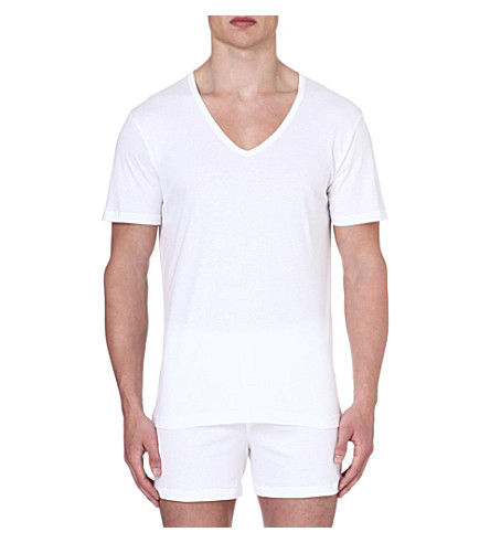SUNSPEL Sea Island cotton t-shirt (White