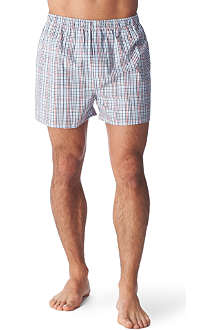 SUNSPEL Checked boxer shorts