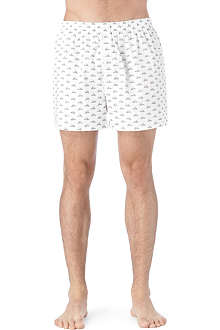 SUNSPEL Horse and cart print boxer shorts