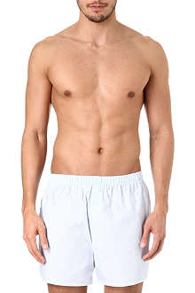 SUNSPEL Broken stripe boxer shorts
