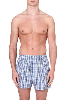 SUNSPEL Tonal check boxer shorts