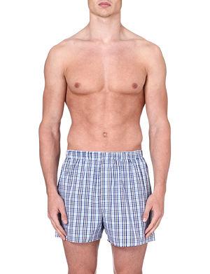 SUNSPEL Tonal check boxer shorts