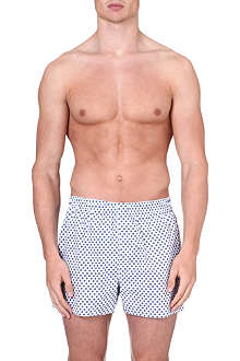 SUNSPEL Diamond-print boxer shorts
