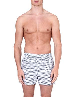 SUNSPEL Diamond-print boxer shorts