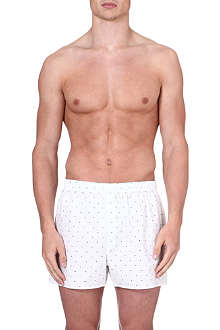 SUNSPEL Dots and cross print boxer shorts