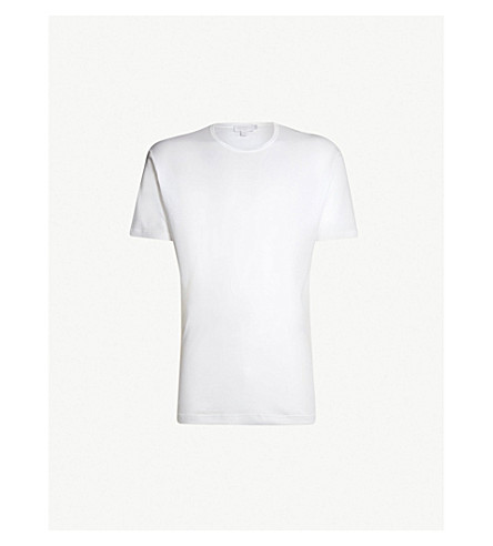 SUNSPEL Sea Island cotton T-shirt (White
