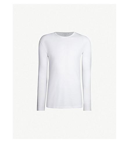 SUNSPEL Crewneck thermal jersey T-shirt (White
