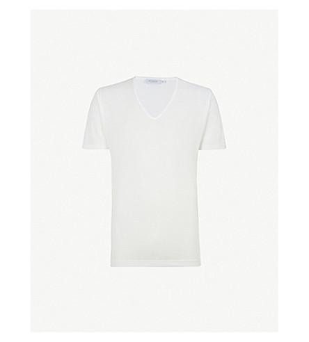 SUNSPEL Superfine Egyptian cotton T-shirt (White