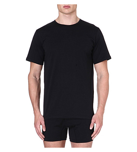 SUNSPEL Q82 crew-neck t-shirt (Black