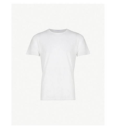 SUNSPEL Superfine Egyptian cotton t-shirt (White