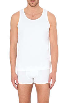 SUNSPEL Sea Island cotton vest