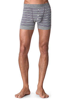 PAUL SMITH Striped four-button trunks