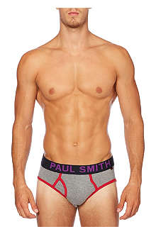 PAUL SMITH Bold waistband pop briefs