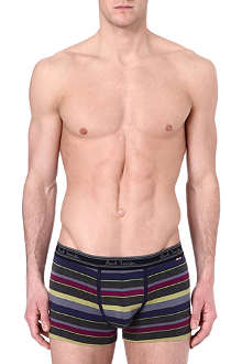 PAUL SMITH Bar-striped trunks