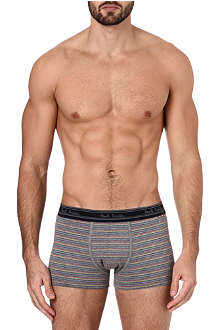 PAUL SMITH Striped cotton trunks