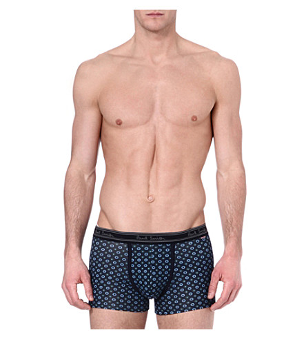 PAUL SMITH Polka-dot trunks (Navy