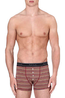 PAUL SMITH Multistripe stretch-cotton trunks