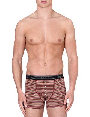 PAUL SMITH Multistripe stretch-cotton trunks