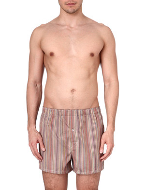 PAUL SMITH Multistripe slim fit cotton boxers