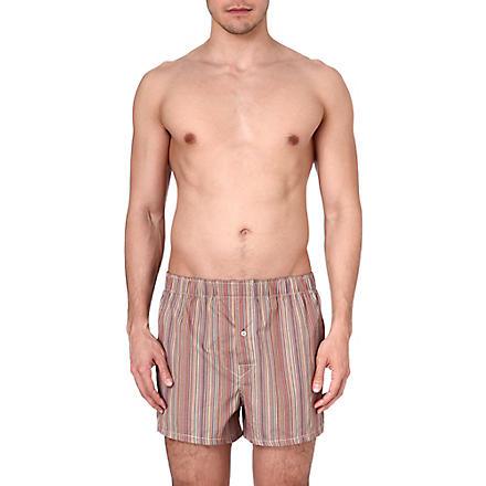 PAUL SMITH Multistripe slim fit cotton boxers (Multi