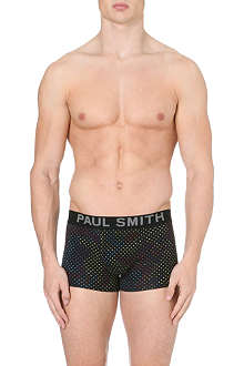 PAUL SMITH Tri-colour dotted cotton trunks