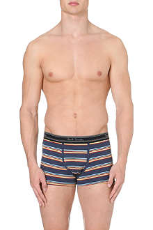 PAUL SMITH Alternate striped cotton trunks