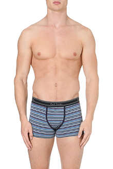 PAUL SMITH Finely striped cotton trunks