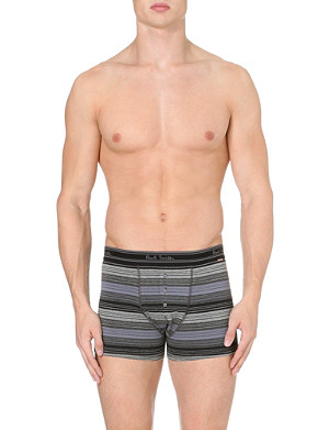 PAUL SMITH Tonal striped boxer shorts