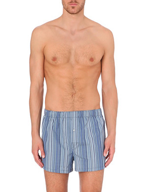 PAUL SMITH Multi-stripe slim-fit boxer shorts