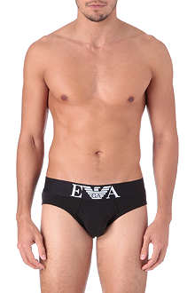 ARMANI Stretch-cotton briefs