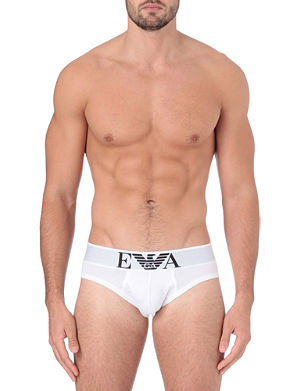 EMPORIO ARMANI Stretch-cotton briefs