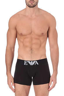 ARMANI Stretch–cotton trunks