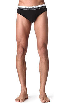 VERSACE Low-rise stretch-jersey briefs
