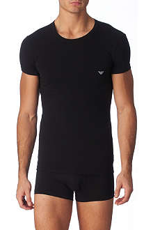 ARMANI Eagle crew neck t–shirt