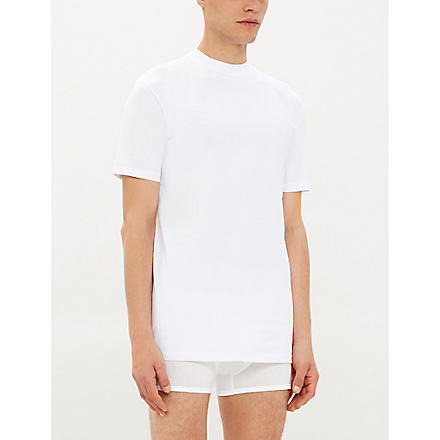 HOM Cotton t-shirt (Whit: white