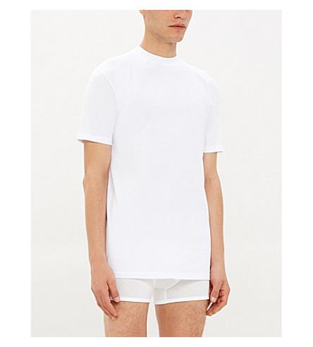 HOM Cotton t-shirt (Whit: white