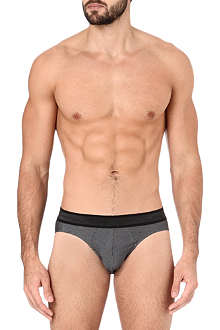 HOM Vendome pinstripe briefs